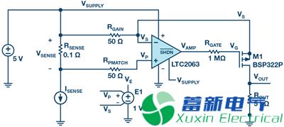 一位年轻程控直流电源应用工程师的高端电流检测实验方案