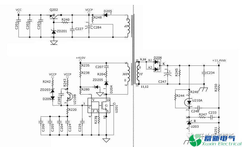 高频开关电源输入线路该如何设计?