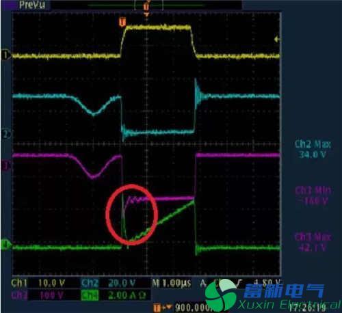 解析直流稳压电源各种波形